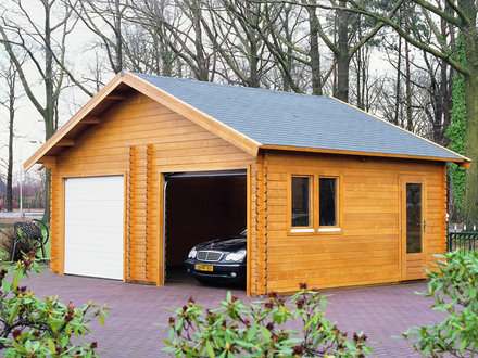 Log Cabin Garage Kits Garage Kits for Homes