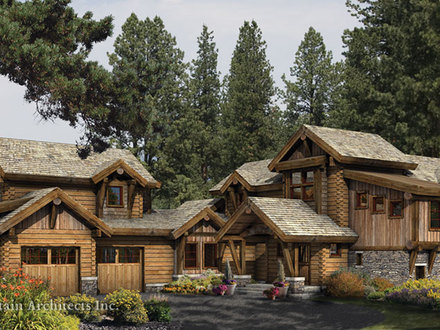 Log cabin architectural digest architecture log cabin for Log home architects