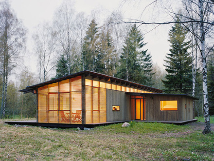 Log Cabin in the Woods Wood Cabin House Modern Design Homes