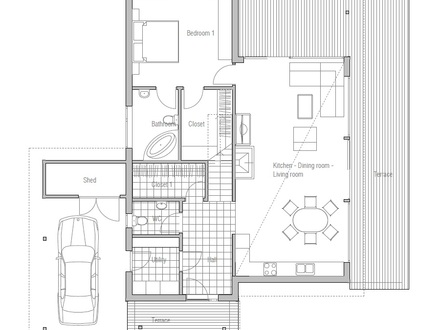 Low Budget House Plans Low-Budget Square House Plans