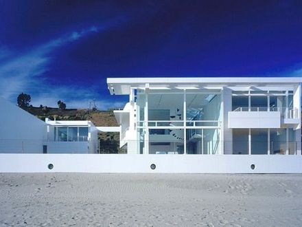 Modern Beach House California Beach House