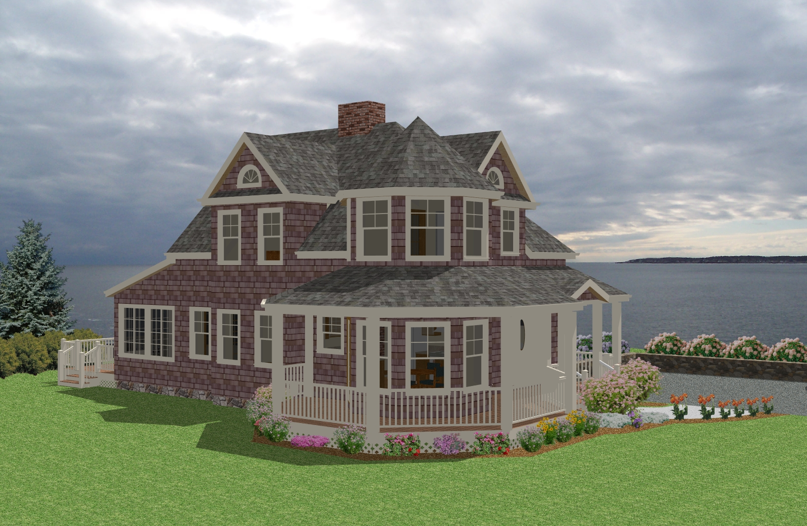 New England Gardens New England Cottage House Plans