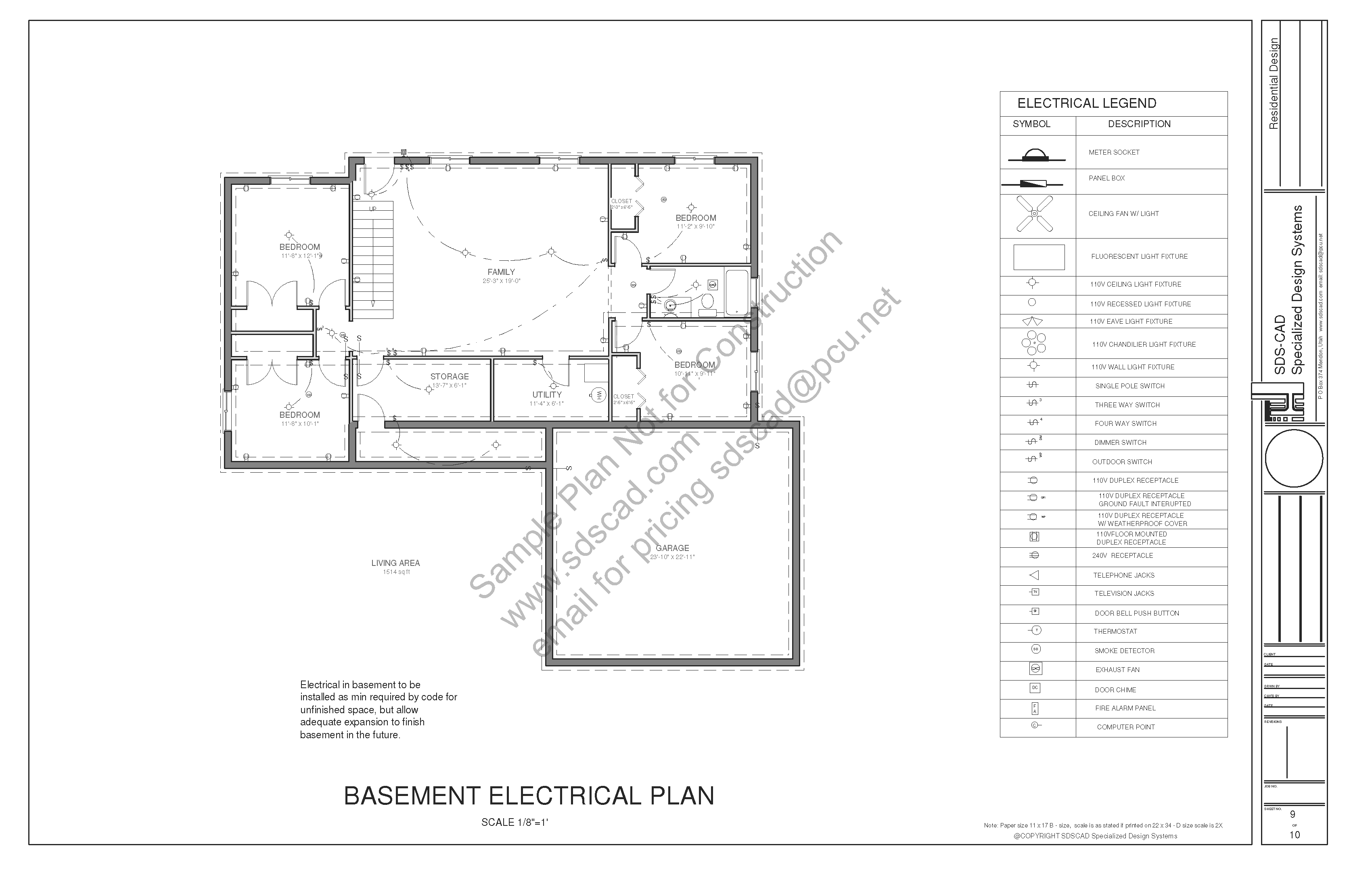 New House Specifications Sdscad 233 Spec House Plans Page