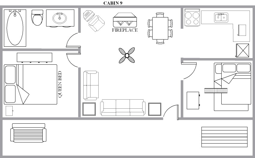 Off grid cabin floor plans cabin house floor plans for Off the grid floor plans