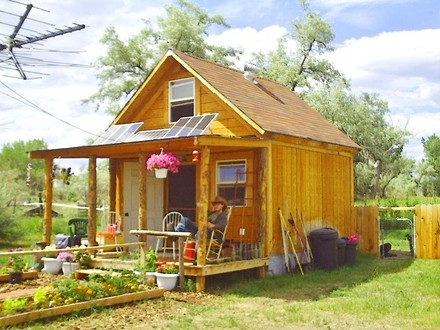 Off Grid Solarcabin Small Off-Grid Cabin Plans