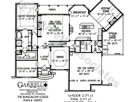 One Story Bungalow Homes One Story Bungalow Style House Plans