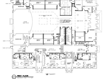 Modern loft floor plans loft floor plans with dimensions for Loft floor plans with dimensions