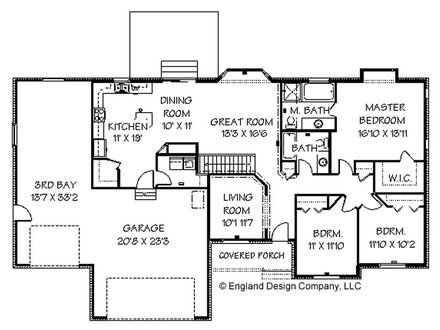Ranch Style House Floor Plans with Basement Modern Ranch Style Homes