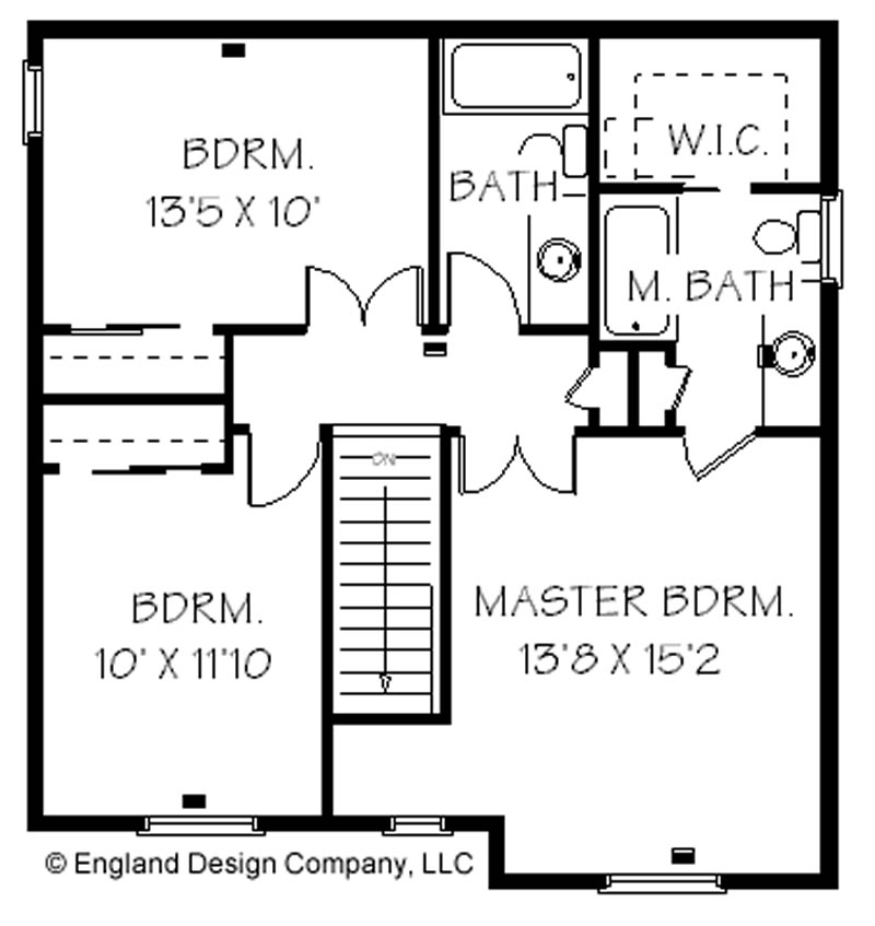 Simple 2 Story House Floor Plans 2 Story Small House