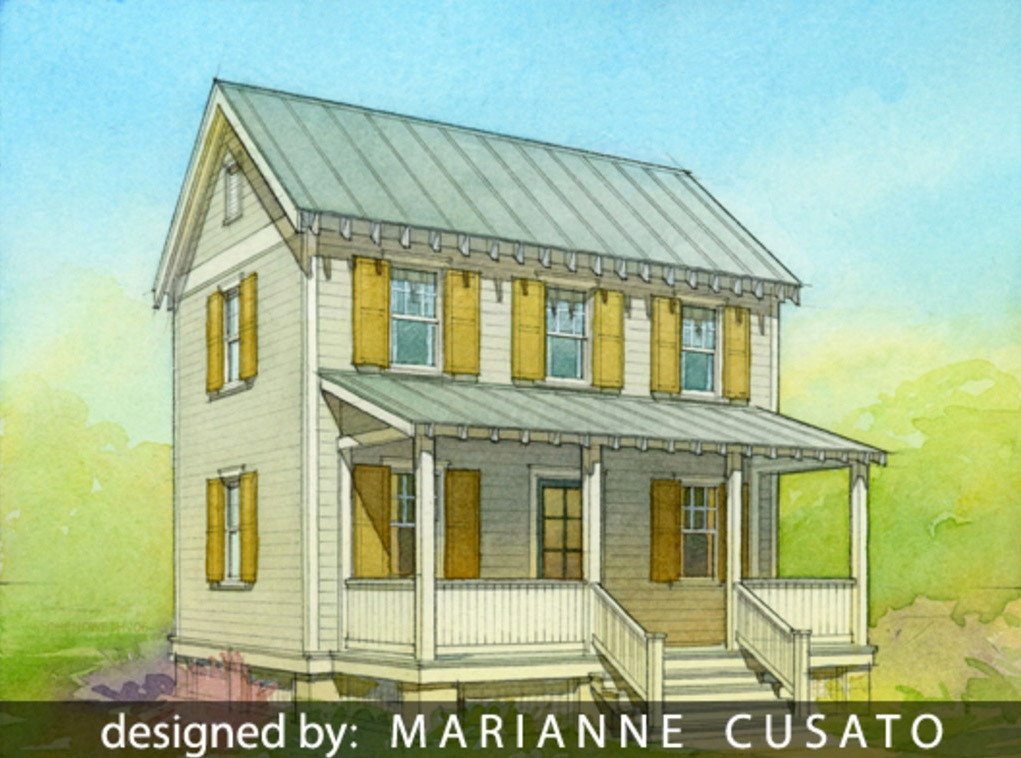 Small 2 story cottage house plans small cottage home plan for Garage cottage house plans