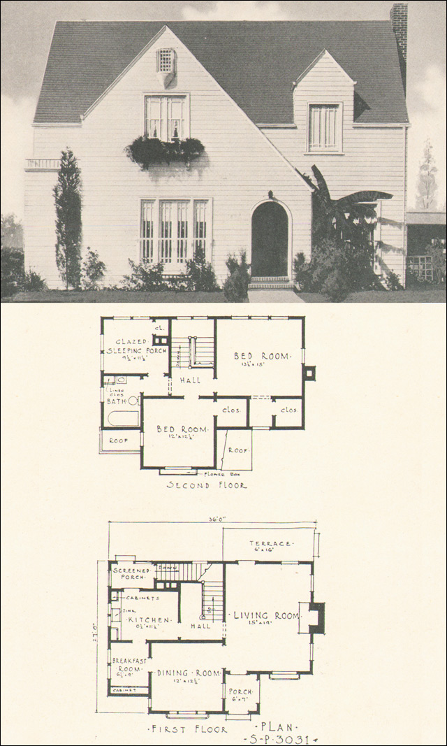 Small Cottage House Plans 1920 Cottage Style House Plans