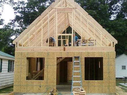 Small Cottage Plans with Garage Small 2 Story Cottage Plans