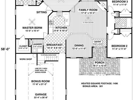 Small Country Cottage Floor Plans Small Cottage Home\'s Interior