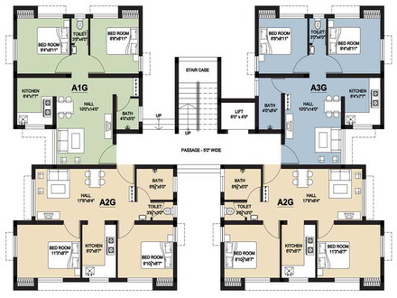 Small House Floor Plans with Stair Small Cottage House Plans