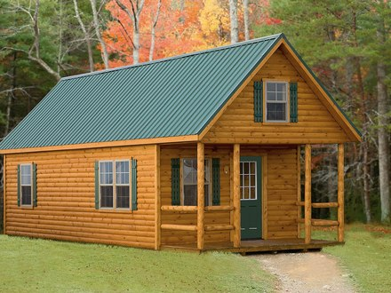Small Log Cabin Modular Homes Small Modular Log Cabins Floor Plan