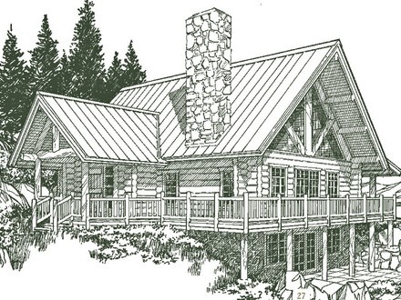 Small Log Homes Gallery Small Log Home House Plans
