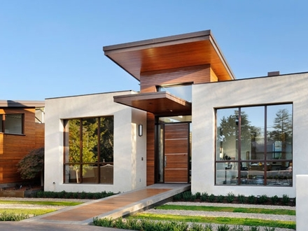 Small Modern House Exterior Design Ultra-Modern Small House Plans