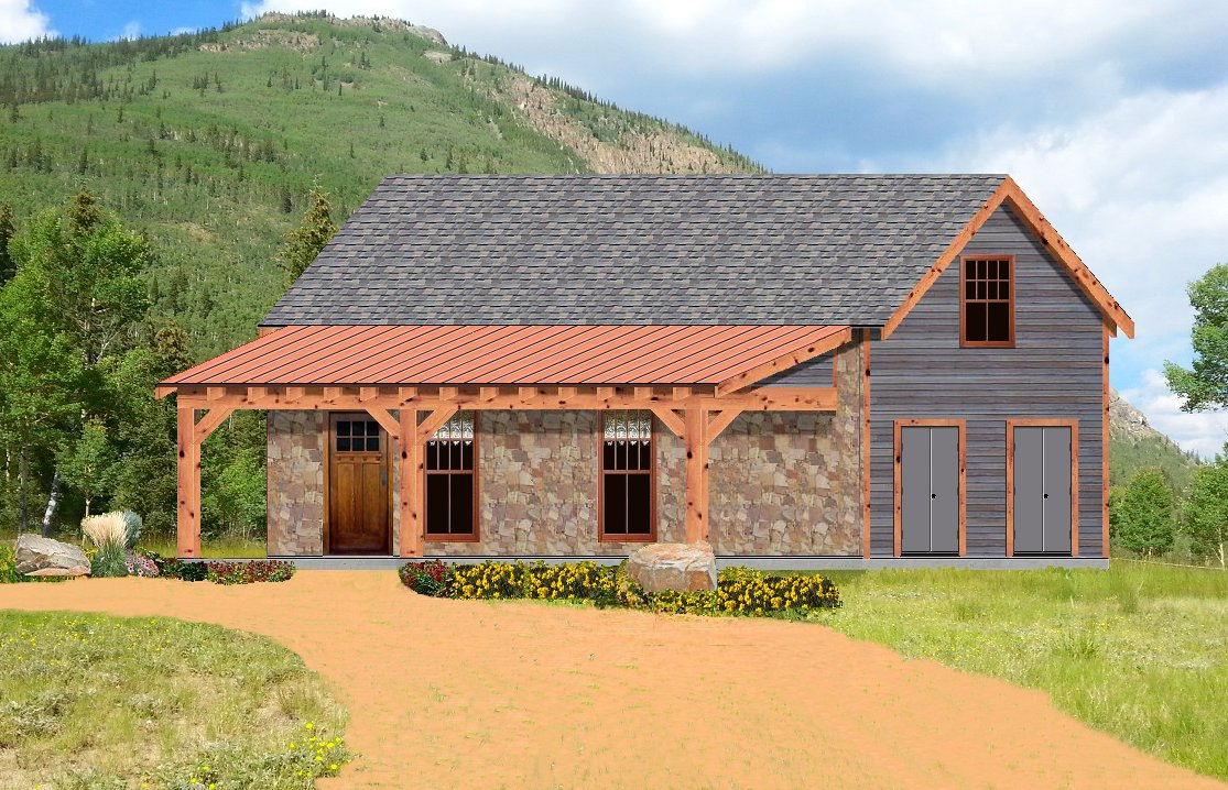 Small one story rustic house plans small rustic bathroom for Rustic house designs