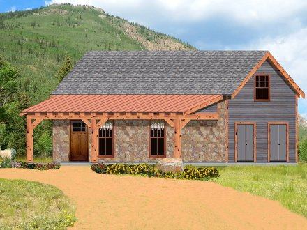 Small One Story Rustic House Plans Small Rustic Bathroom Ideas