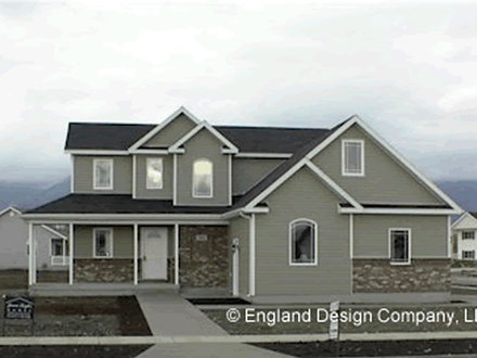 Small Two Story House Plans Two-Story House From