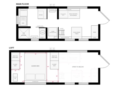 Tiny House Floor Plans 14 X 18 Inside Tiny Houses