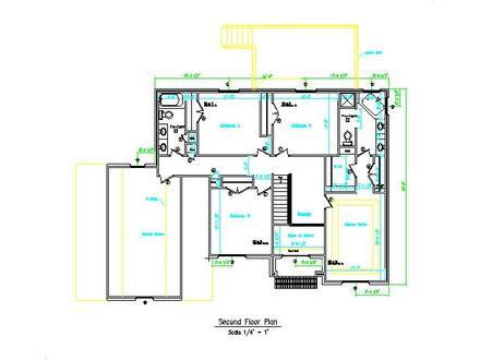 Two-Story Brick House Small Two Story House Plans