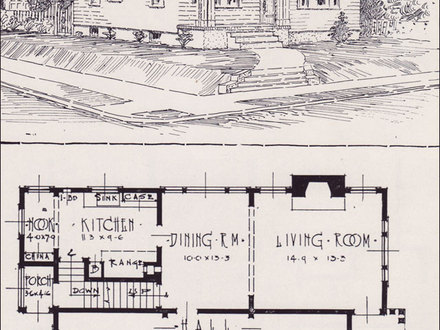 1926 Bungalow Floor Plans Sears Craftsman Bungalow Floor Plans
