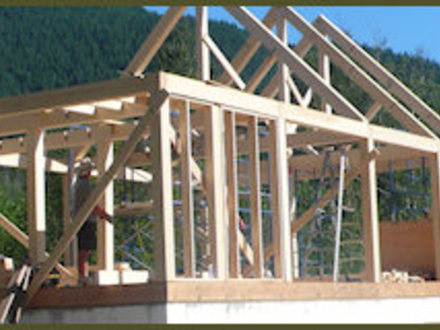 Affordable Cabin Kits Slant Roof Cabin Kits BC, Affordable Recreational Log Cabins and Cottages from BC