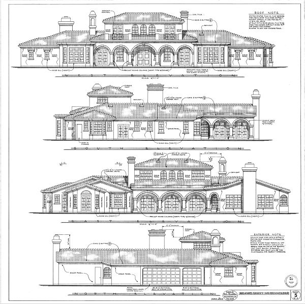 Elevation View Vs Plan View : Architecture drawings plan elevation drawing house