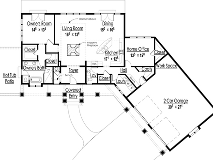 Award Winning House Plans Award-Winning Open Floor Plans