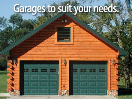 Awesome Log Cabin with Garage Log Cabin with Garage