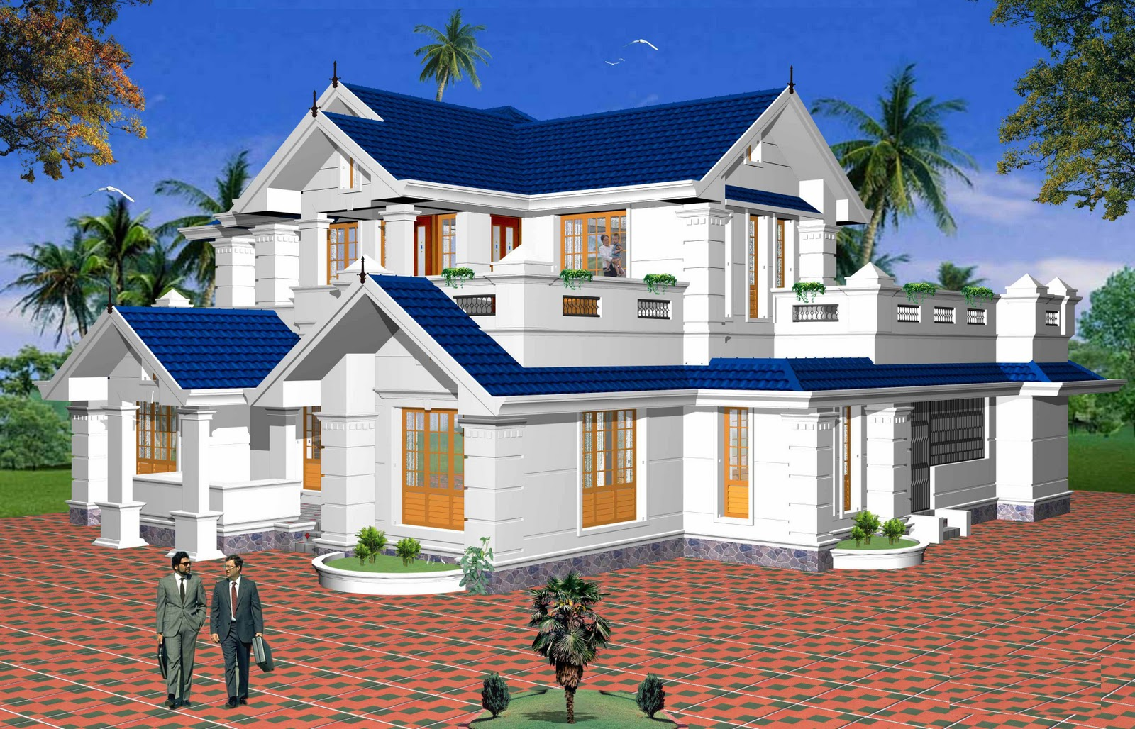 Beautiful 2 story homes beautiful home designs plans for Beautiful two story homes
