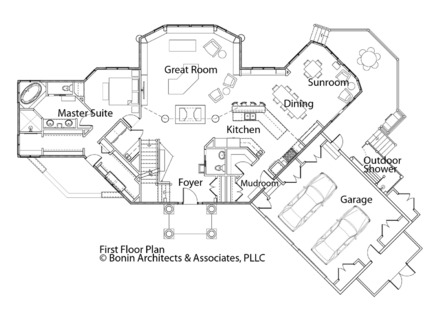 Birds Eye View of People Birds Eye View of House Plans with Rooms