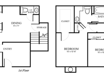 Champion Forest House Floor Plans Cypress and Champion Forest Spring