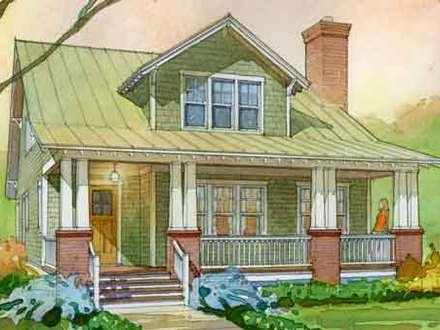 Colorful Beach Cottage Southern Living Aberdeen Cottage House Plan Pictures