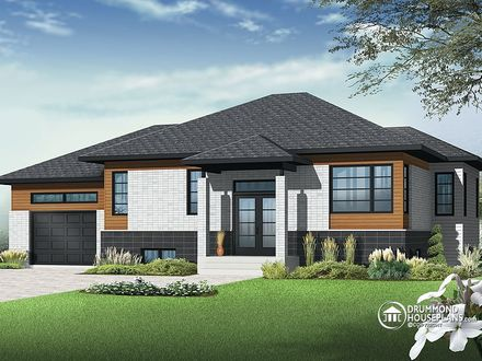 Contemporary Bungalow House Plans Modern Bungalow