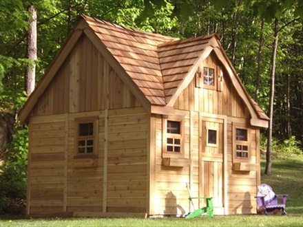 DIY Pallet Playhouse Pallet Playhouse Plans