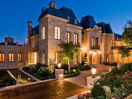 French Chateau Style Home French Country Style Homes