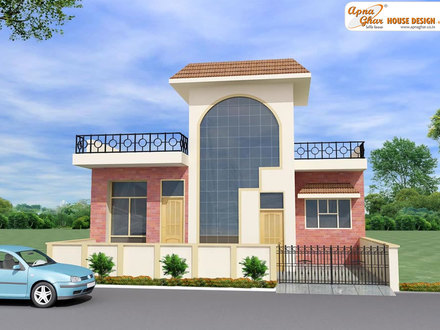 Front Elevation Indian Home House Front Elevation