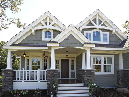 Home Style Craftsman House Plans Colonial Style Home House
