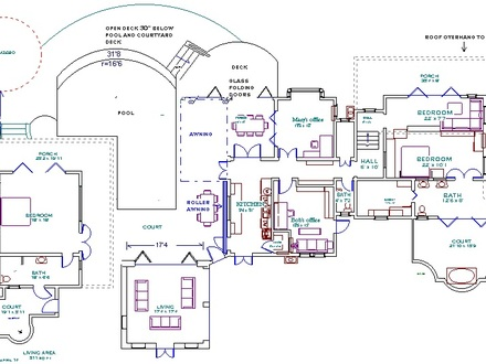 House Floor Plans with Measurements House Floor Plans with Indoor Pool