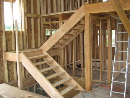 How to Build Basement Stairs How to Build Walls in a Basement