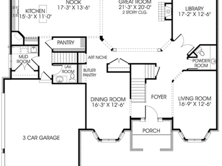Large Luxury Cabin Floor Plans Floor Plans with Large Rooms