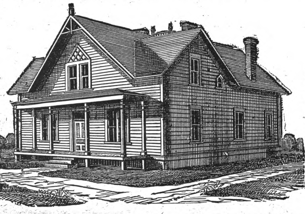 Late 19th century house plans 19th century house plans for 19th century floor plans