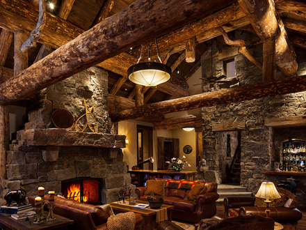 Living Room Rustic Log Cabin Homes Country Rustic Living Room
