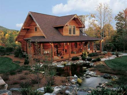 Log Cabin Homes North Carolina Log Cabin Homes with Pools
