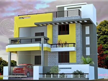 Modern Mansions Modern Indian Home Design