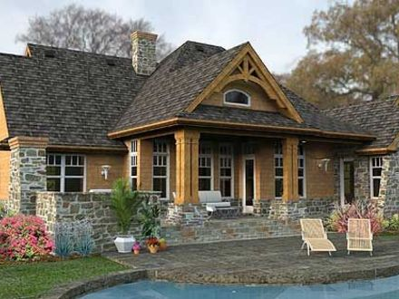 Mountain, Cottage, Corner Lot, Ranch, Vacation House Plans & Home Cottage Corner Health Center