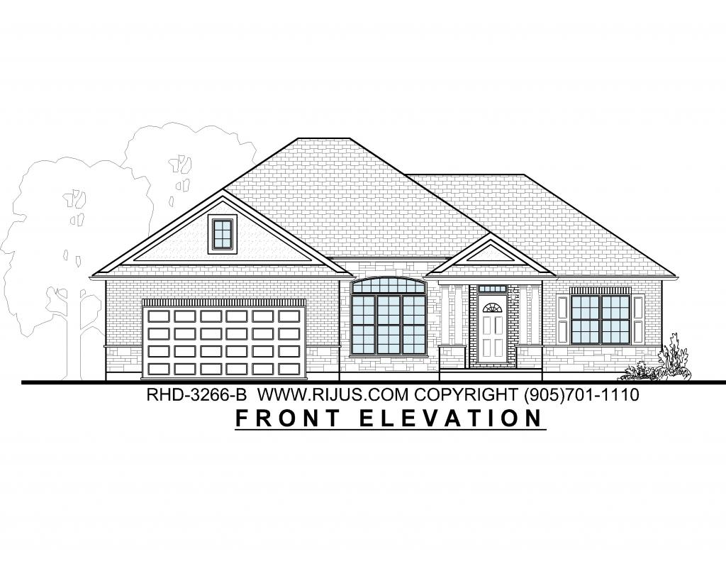 Ranch house plans bungalow house plans executive bungalow for Ranch bungalow plans