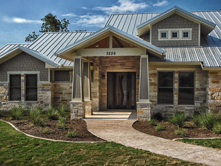 Ranch Style Homes with Stone Exteriors Custom Ranch Home Designs
